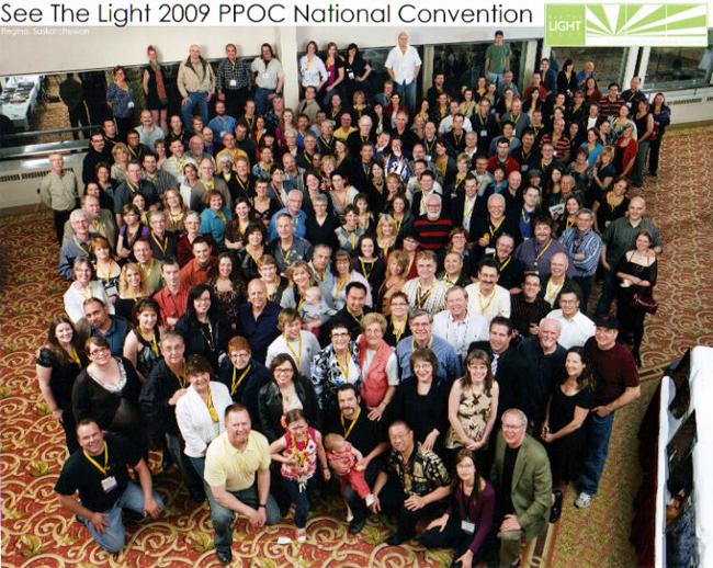 PPOC Members Group Portrait 2009