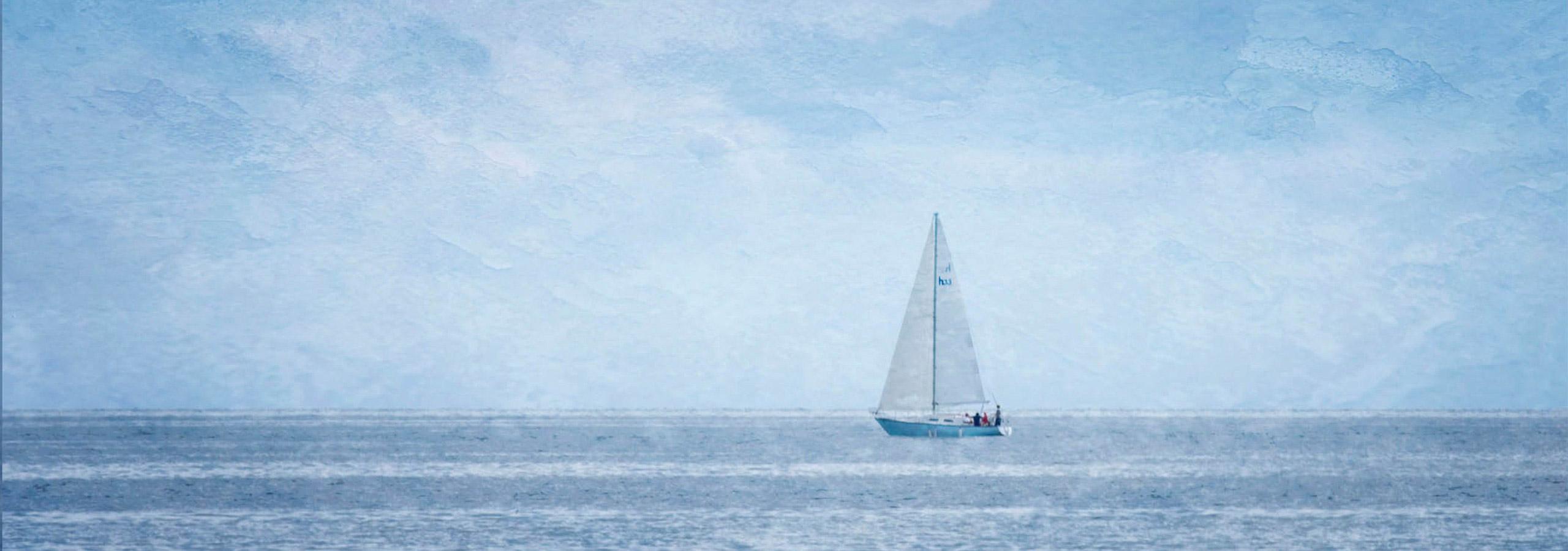 Blue Sailing  Debbie Malm MPA